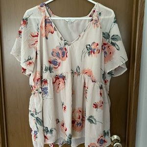 Lucky Brand Floral top